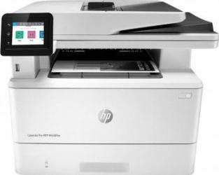 Imprimanta multifunctionala Laser HP LaserJet Pro MFP M428fdw Monocrom A4 USB Retea Wi-Fi Alb