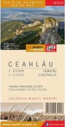 Muntii Ceahlau. Harta de drumetie - Muntii nostri
