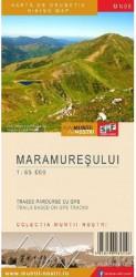 Muntii Maramuresului. Harta de drumetie - Muntii nostri Harti