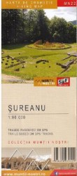 Muntii Sureanu. Harta de drumetie - Muntii nostri