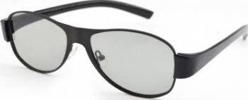 Ochelari 3D pasivi polarizati model aviator pentru televizoare lentile polarizate