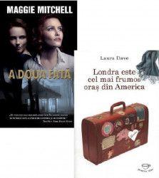 Pachet A doua fata Maggie Mitchell + Londra este cel mai frumos oras din America Laura Dave Carti