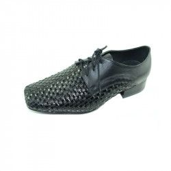 Pantofi eleganti pentru baieti EMEL E 2077-1 N Negru 34