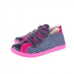 Pantofi ortopedici din piele naturala pentru fetite MRUGALA 3383-74 N Fucsia 37