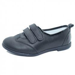 Pantofi ortopedici din piele pentru fetite SMALL FOOT SMFP16-N Negru 28