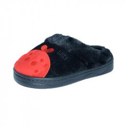 Papuci de casa pentru baieti Haotai 32889-N Negru 35