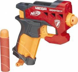 Pistol De Jucarie Hasbro Nerf N-Strike Mega Bigshock