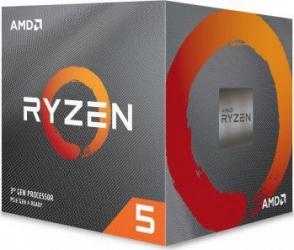 Procesor AMD Ryzen 5 3600 3.6GHz Socket AM4 + Wraith Stealth Box Procesoare