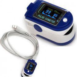 Puls-oximetru profesional CONTEC CMS-50D+ cu alarma pletismograma USB memorie puls 30-250 bpm SpO2 0-100