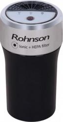 Purificator de aer pentru masina Rohnson R9100 40 m3/h 4 W 2 viteze Negru HEPA Inox Aparate filtrare aer