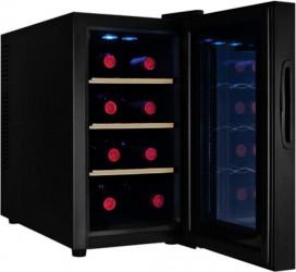 Racitor vinuri Samus SRV25LMA+ 8 sticle 8 - 18 C Negru
