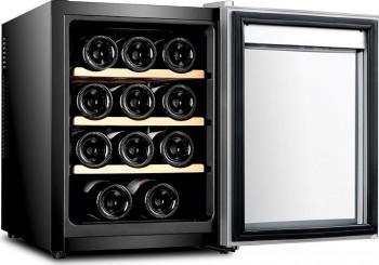 Racitor vinuri Samus SRV36LMA 12 sticle 10 - 18 C Negru
