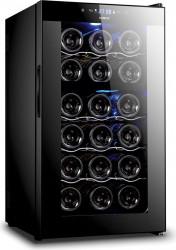 Racitor vinuri Samus SRV50CRC 18 sticle 8 - 18 C Negru