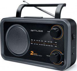 Radio portabil Muse M-06 DS FM-MW Negru Ceasuri si Radio cu ceas