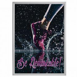 Rama click Premium format 500x700mm din aluminiu pentru expunere postere afise reclame Articole si accesorii birou