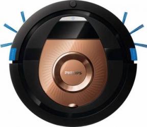 Robot de aspirare Philips SmartPro Compact FC877601 0.3L 3 trepte 4 moduri curatare Profil subtire Functie programare