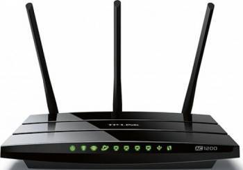 Router Wireless TP-Link Archer C1200 Dual Band AC1200, Full Gigabit, USB