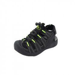 Sandale baieti American Club BIF21010-N Negru 36