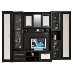 Set Living CAROLLI C1 270x53x200cm Wenge+Mesteacan