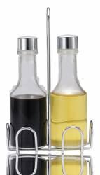Set ulei maslina si otet EKO LINE 2 piese suport inox N-8051 MN010639