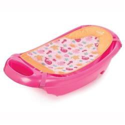 Summer Infant - 19476 - Set Cadita Si Suport De Baita Splish n Splash-Pink