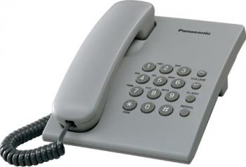 Telefon analogic Panasonic KX-TS500FXH Gri Telefoane