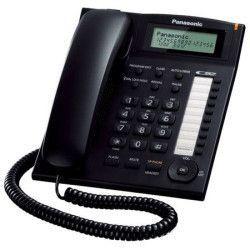 Telefon analogic Panasonic KX-TS880FXB Caller ID Negru Telefoane