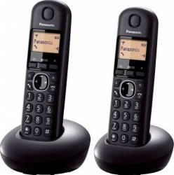 Telefon Dect Panasonic KX-TGB212FXB 2 receptoare Negru Telefoane