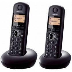Telefon fara fir Panasonic Dect Twin KX-TGB212FXB 2 receptoare Caller ID Negru Telefoane