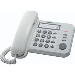 Telefon fix analogic Panasonic KX-TS520FXW White Telefoane