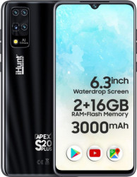 Telefon mobil iHunt S20 Plus Apex 2021 16GB Dual SIM 3G Black