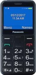 Telefon mobil Panasonic KX-TU150EXB pentru Seniori cu buton SOS Negru Telefoane