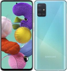 Telefon mobil Samsung Galaxy A51 A515 128GB Dual SIM 4G Prism Crush Blue