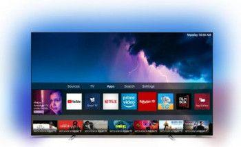 Televizor OLED 164cm Philips 65OLED754/12 4K UltraHD Smart TV Android