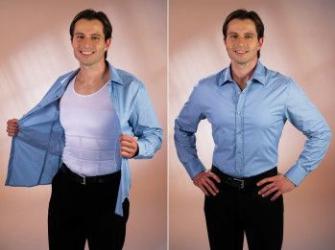 Tricou modelator pentru barbati Slim n Lift