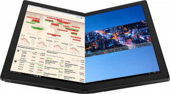 Ultrabook 2in1 Lenovo ThinkPad X1 Fold G1 Intel Core i5-L16G7 512GB SSD 8GB QXGA Touch Win10 Pro 5G Black