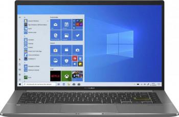 UltraBook ASUS VivoBook 14 S435EA Intel Core (11th Gen) i7-1165G7 1TB SSD 16GB Iris Xe FullHD Win10 Pro Tast. ilum. FPR Deep Green