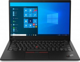 Ultrabook Lenovo ThinkPad X1 Carbon Gen 8 Intel Core (10th Gen) i5-10210U 512GB SSD 16GB FullHD Win10 Pro Tast. ilum. FPR Black