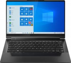 UltraBook 2in1 Lenovo Yoga 9 14ITL5 Intel Core (11th Gen) i7-1185G7 1TB SSD 16GB Intel Iris Xe 4K Touch Win10 Tast. ilum. FPR Black