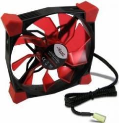 Ventilator Inter-Tech CobaNitrox Extended N-120-G 120mm Red LED