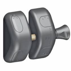 Zavor magnetic pentru poarta metalica sau lemn MagnaLatch Side Pull fara cheie negru Butuci, Yale si Incuietori