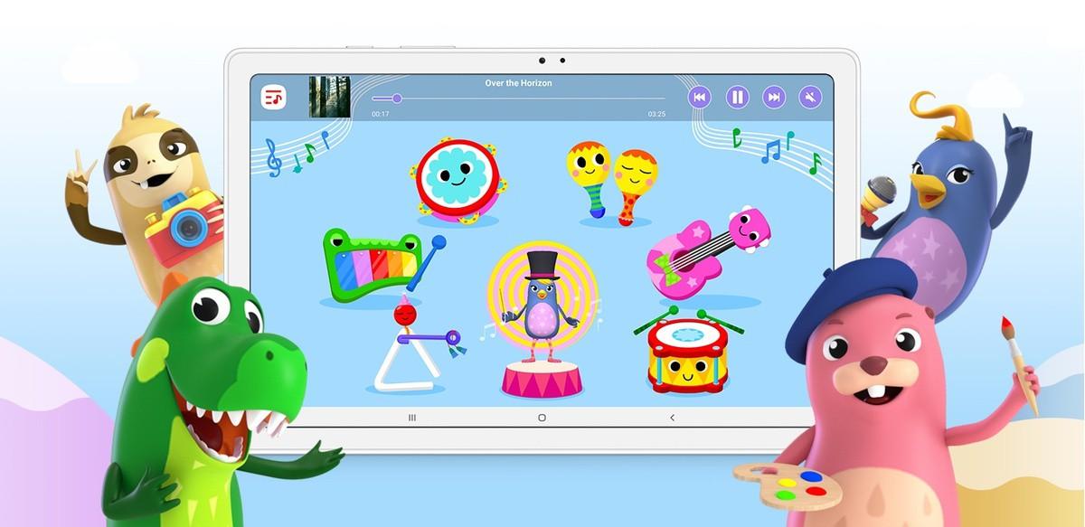 Oferă copiilor un spatiu digital de studiu si un teren de joacă