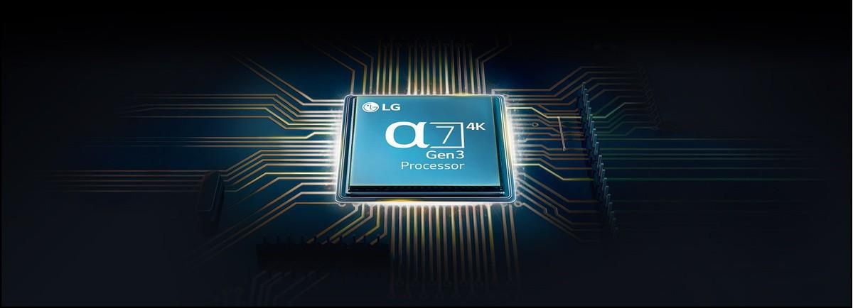 Alpha 7 processzor a TV alaplapjára szerelve