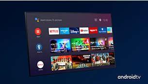 Android TV. Pur şi simplu inteligent.