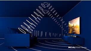 Dolby Vision şi Dolby Atmos. Vizionare şi sunet cinematografice.