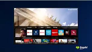 Smart TV SAPHI. Modul inteligent de a te bucura de televizor.