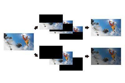 Detaliile unei masini care se deplasează cu viteză, cu X-Motion Clarity