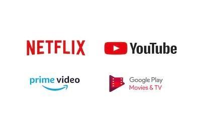 Mai multe aplicatii decât pe orice alt televizor inteligent