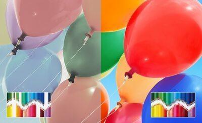 Gamă largă de culori TRILUMINOS